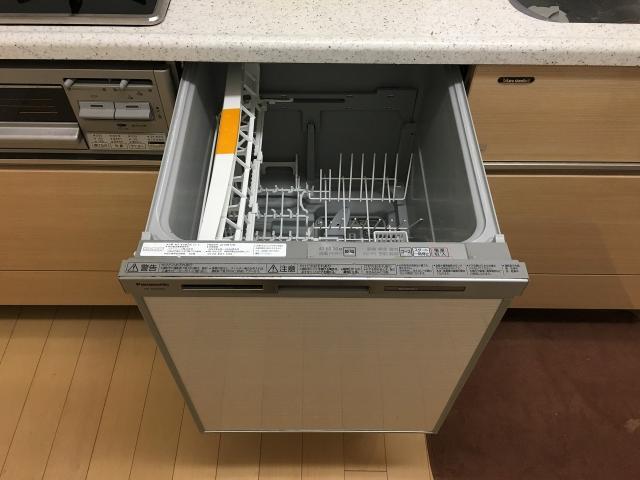 2014年製の食洗機。