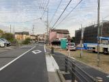現地写真 11月上旬(対象区画は建築前)