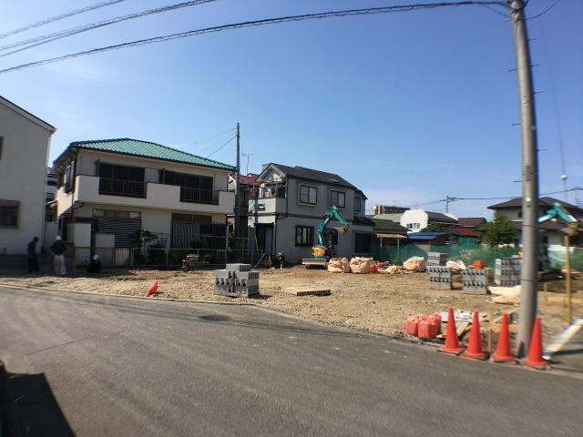 7月下旬 建築前現場写真